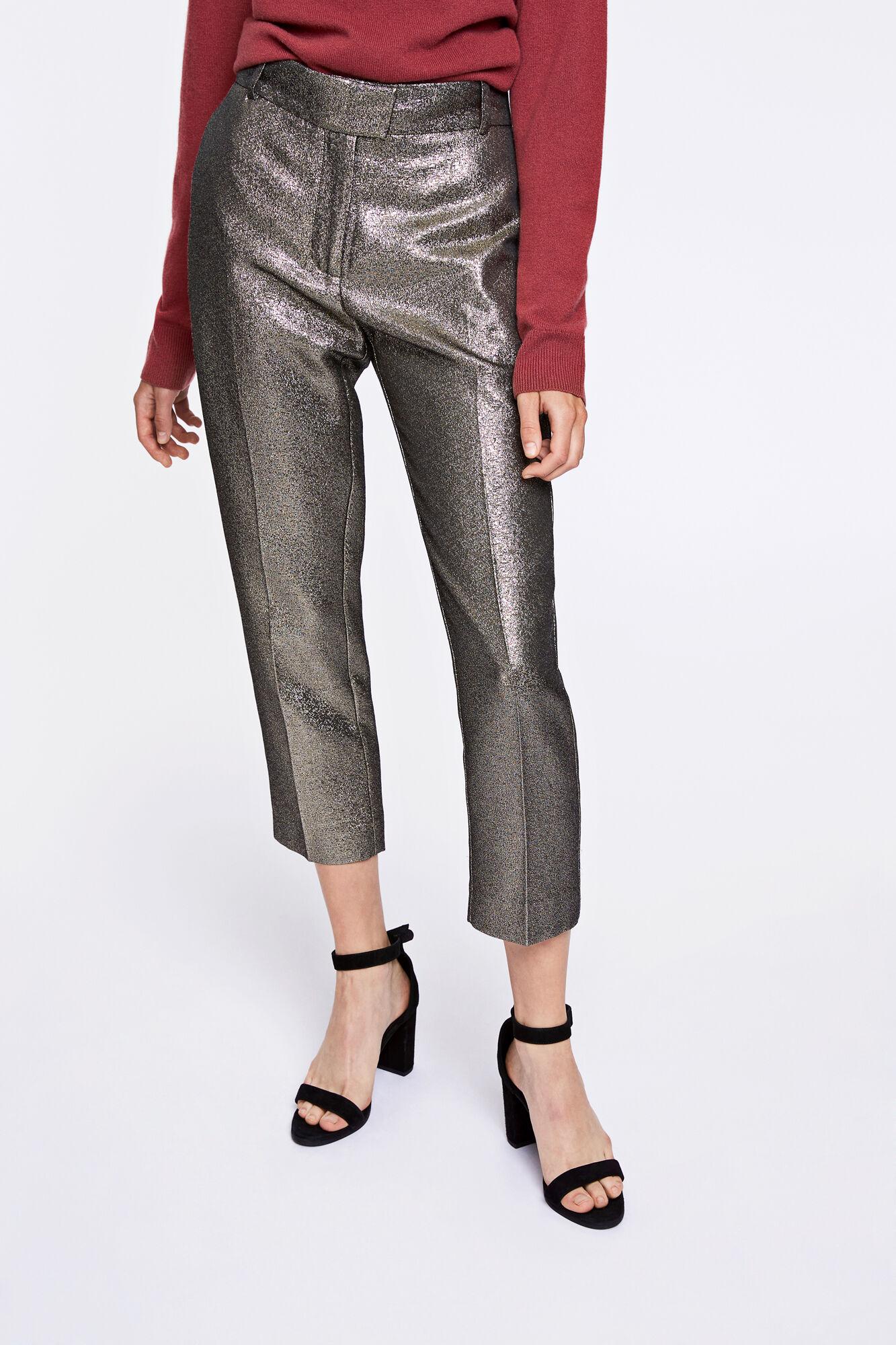 Lola pants 8302, GOLD SILVER