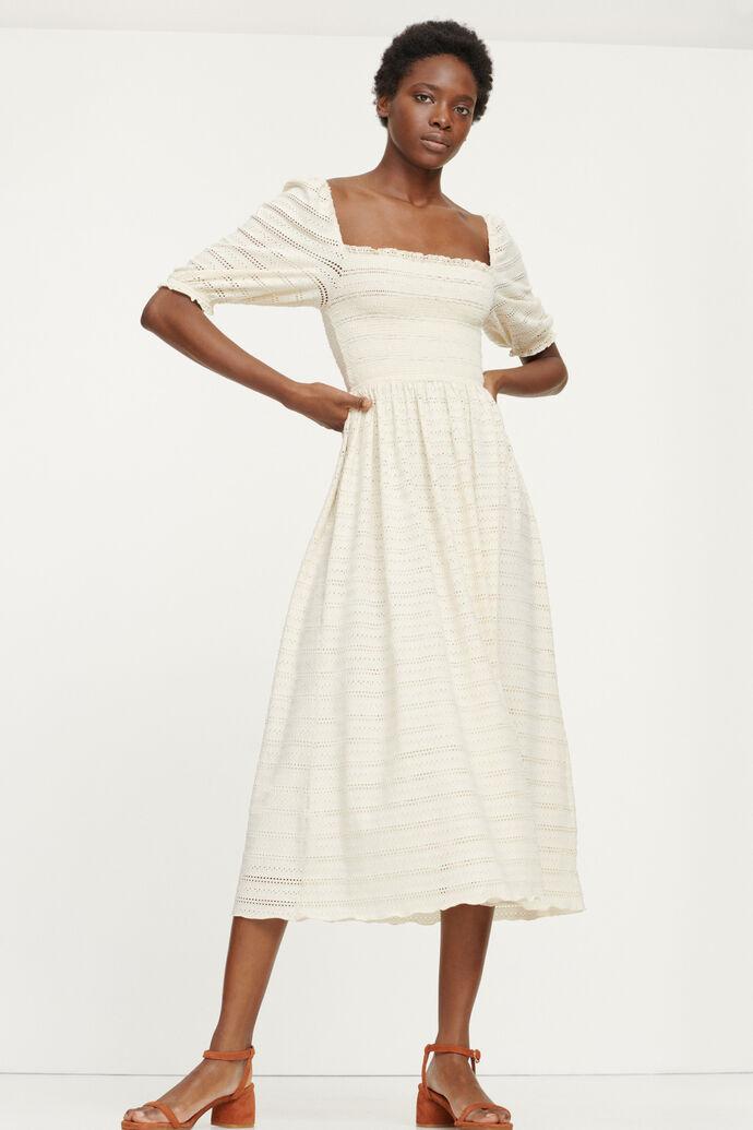 Pia dress 12704, WARM WHITE
