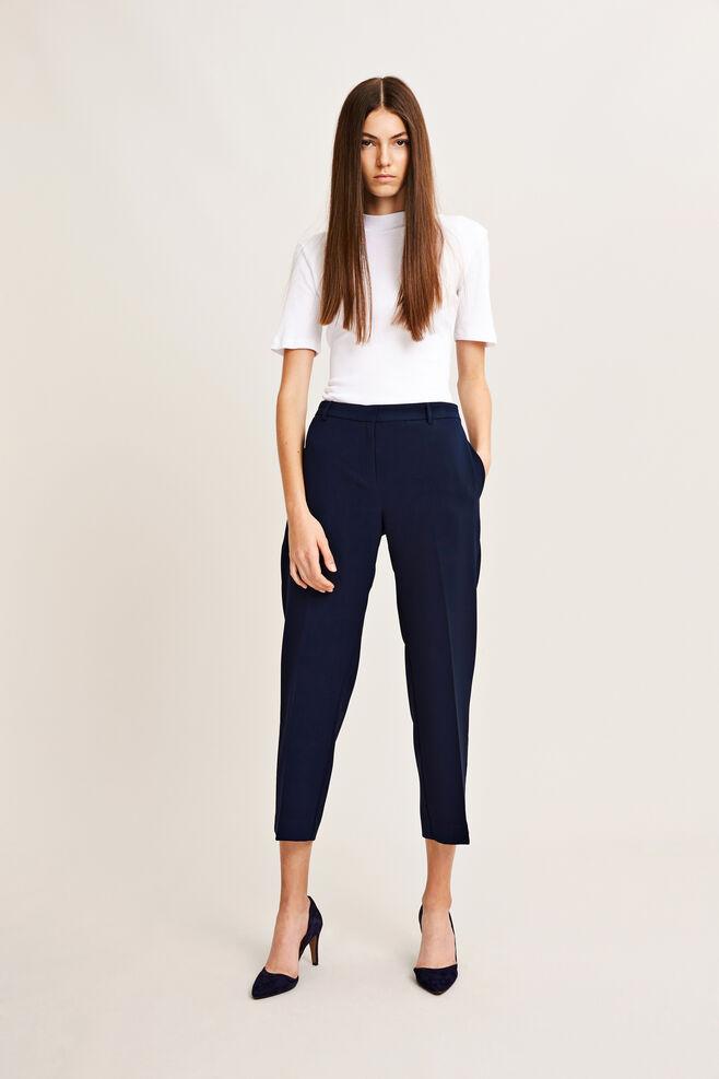 Louise crop pants 6463, DARK SAPPHIRE
