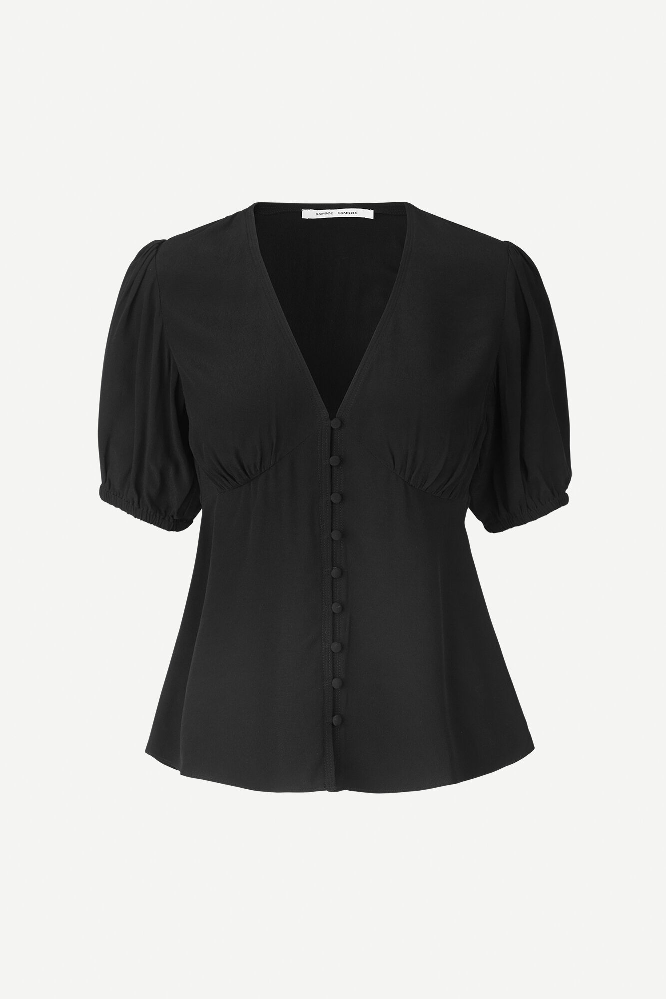 Petunia ss blouse 10056, BLACK