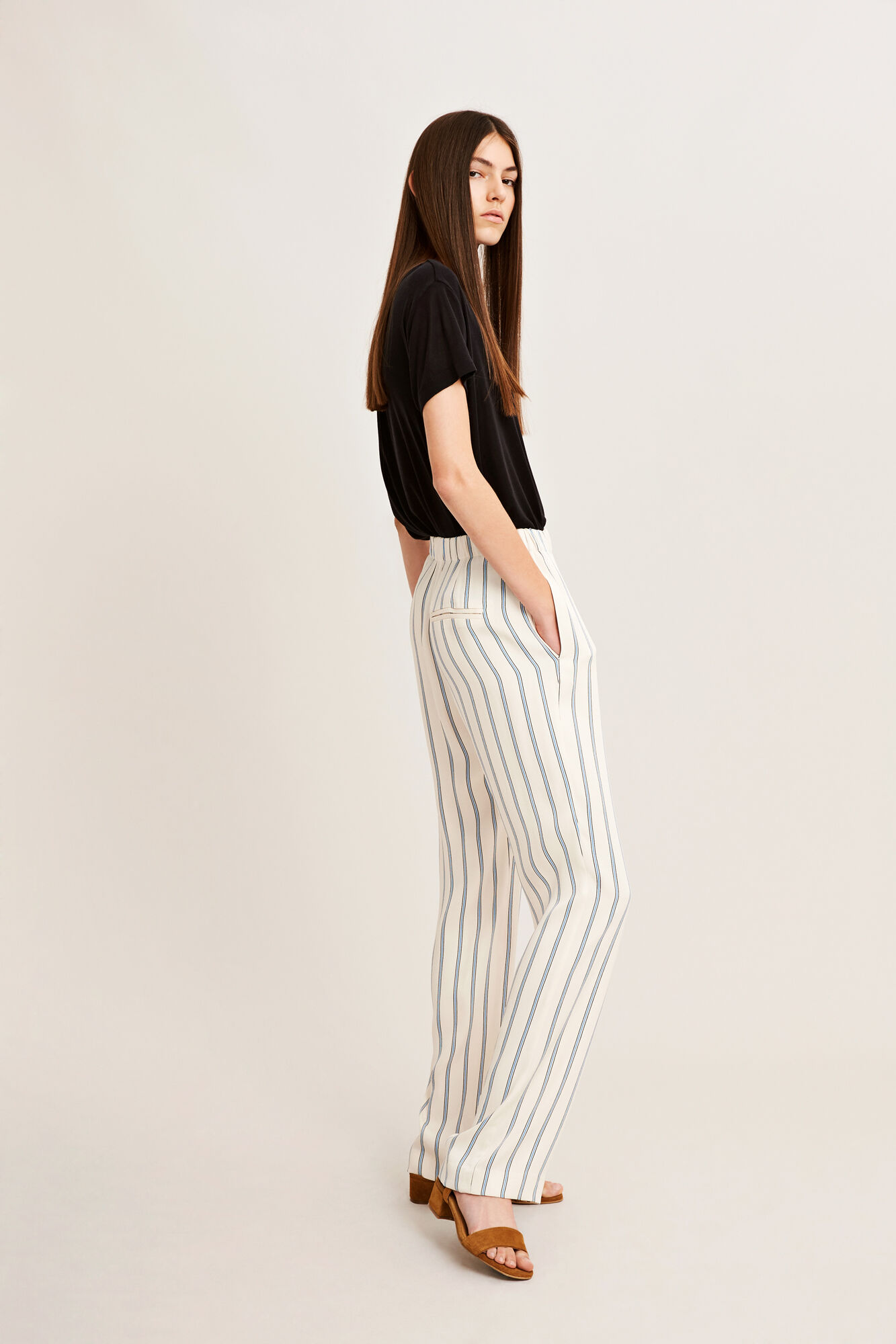 Hoys straight pants aop 7700