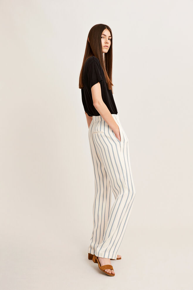 Hoys straight pants aop 7700, WHITECAP ST