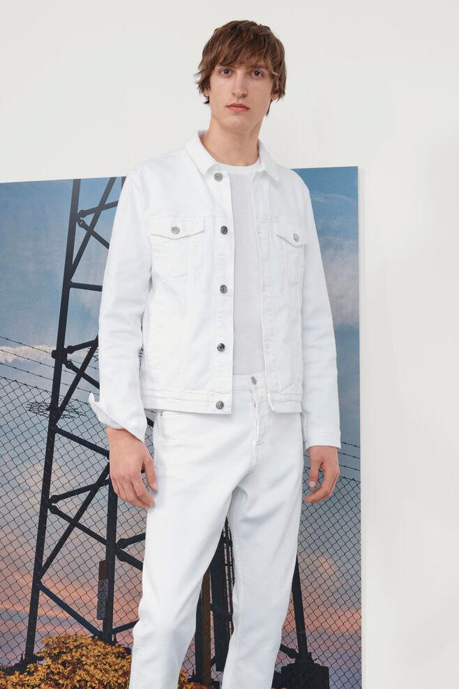 Laust jacket 9895, WHITE DENIM