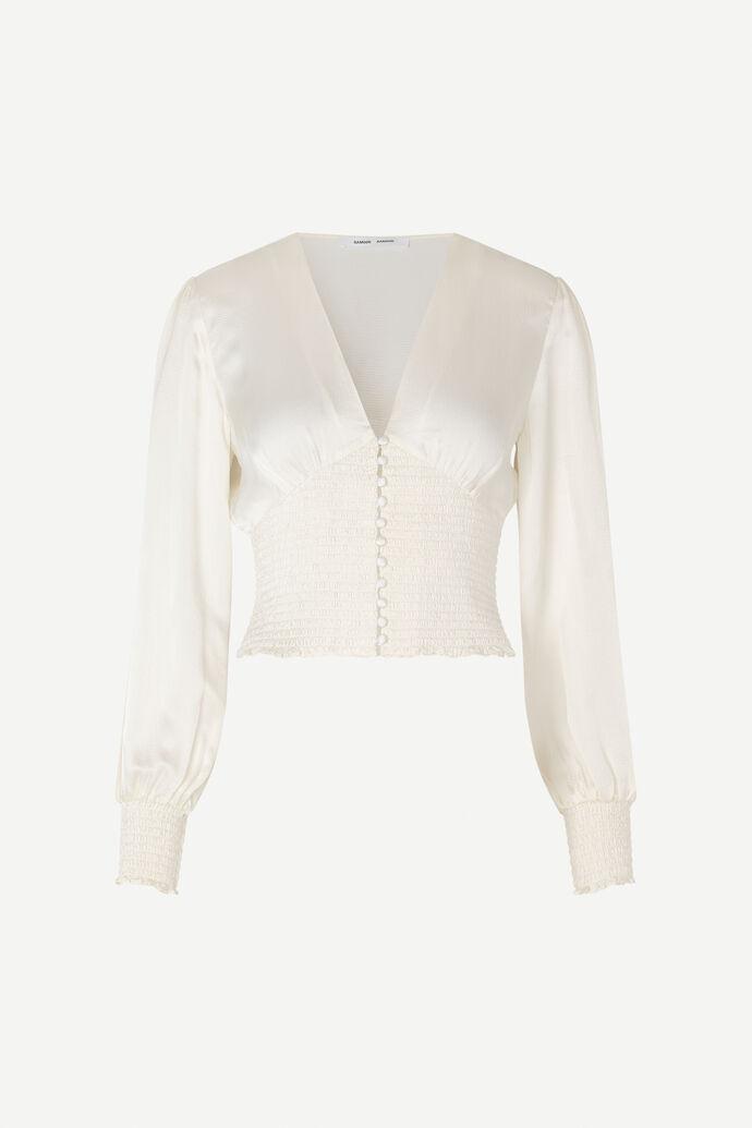 Leila blouse 12887, CLEAR CREAM