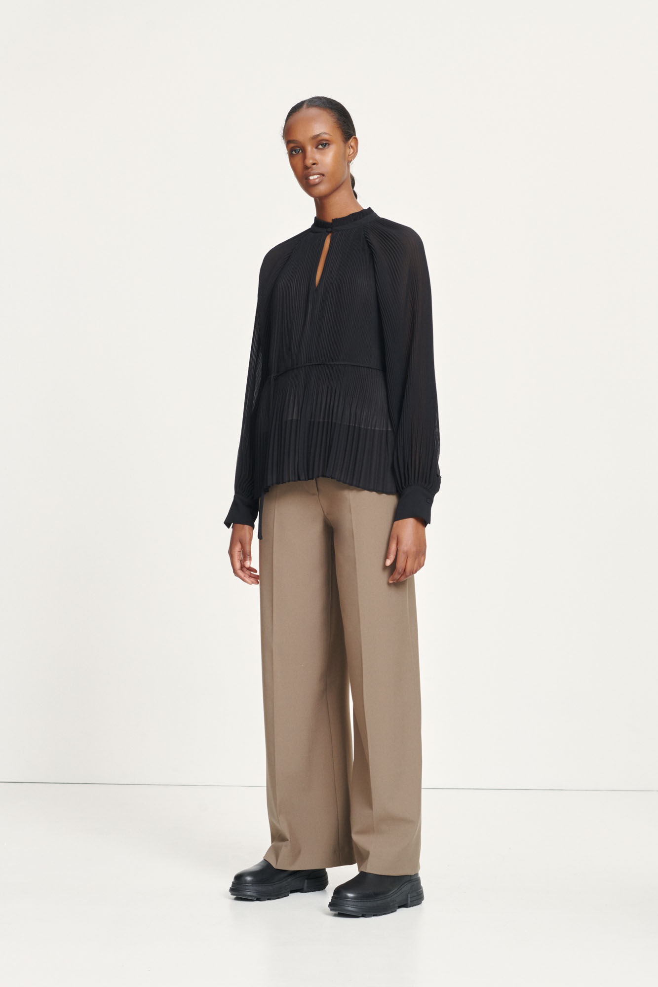 Soraya blouse 11185, BLACK