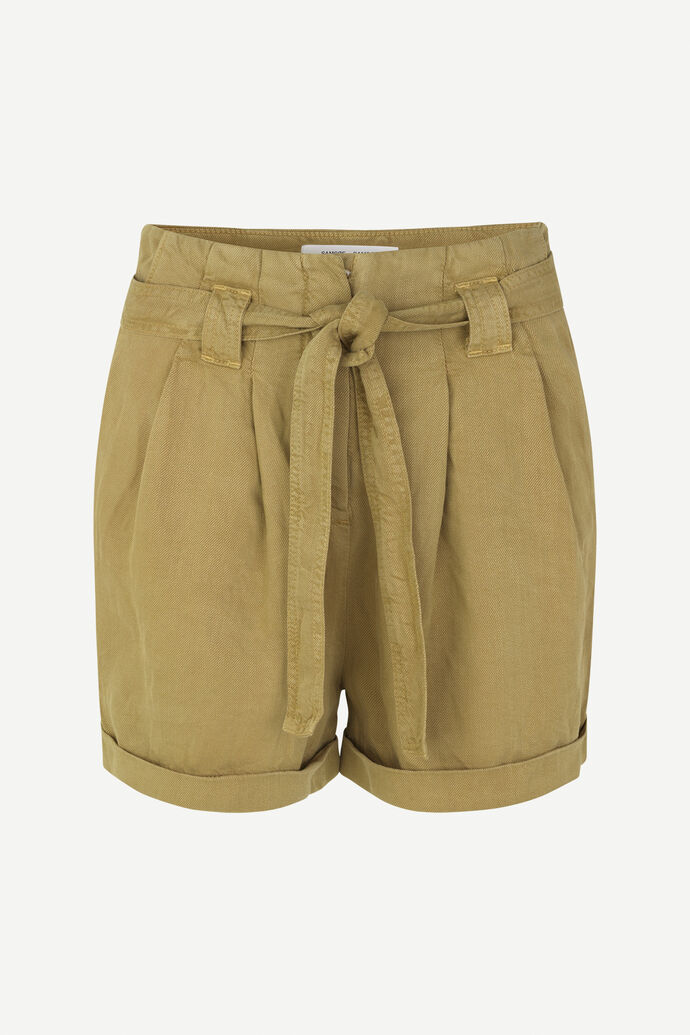 Manz shorts 11484, GREEN KHAKI