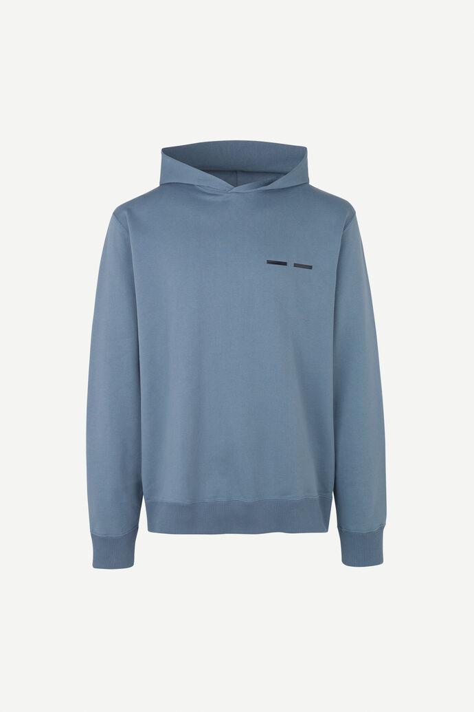 Toscan hoodie 11414, BLUE MIRAGE
