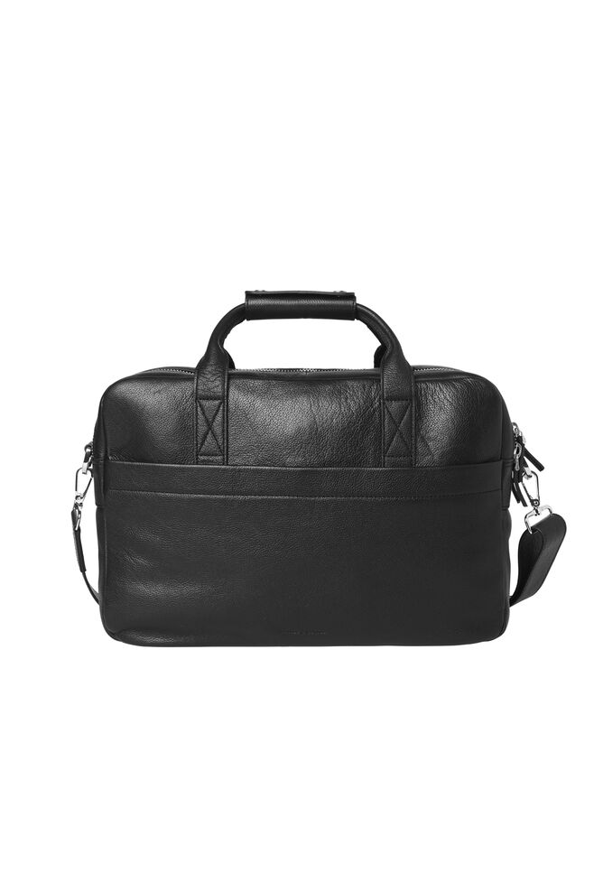 Miro briefcase double 3338, BLACK