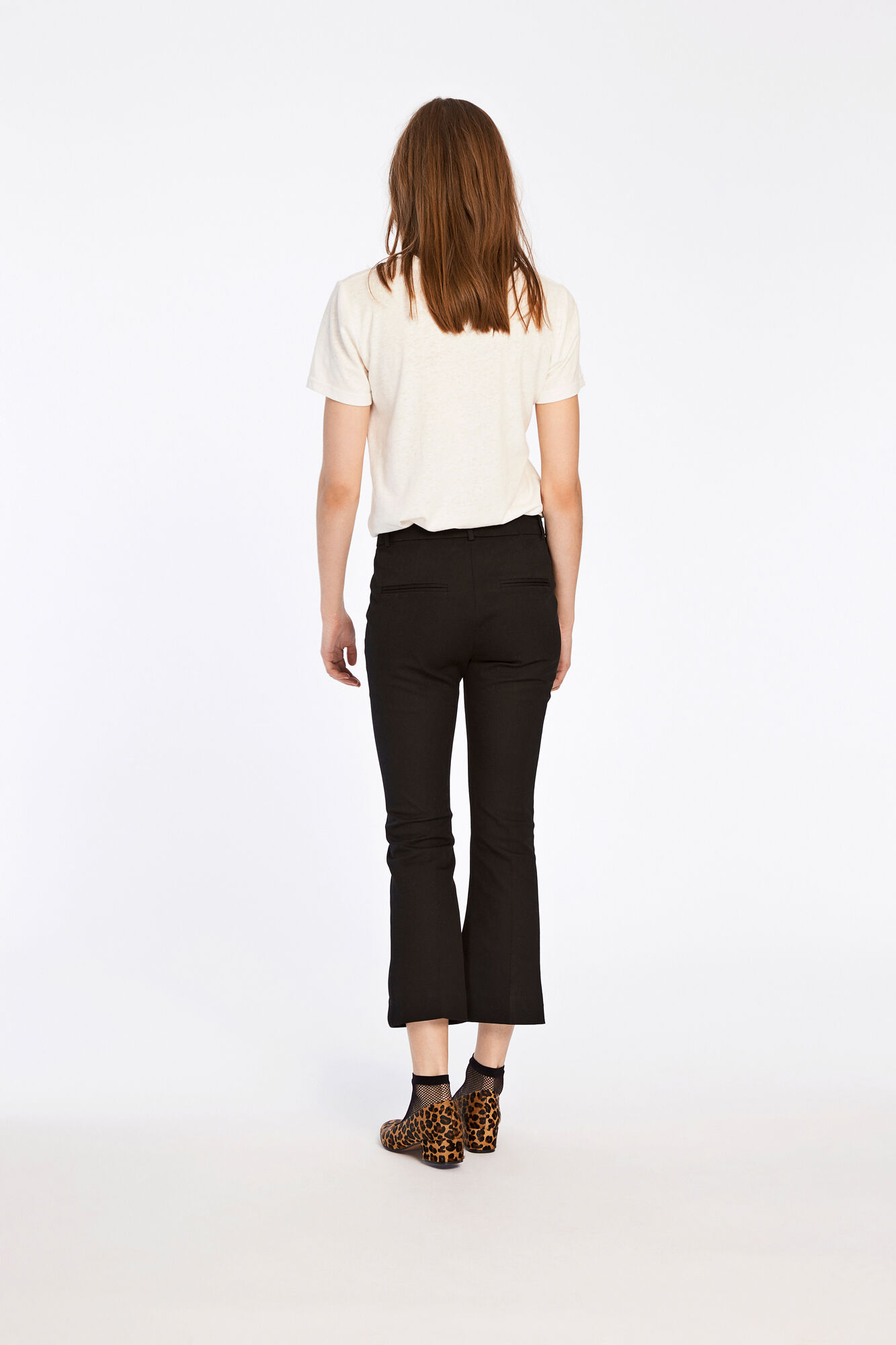 Geraldine pants 8076, BLACK