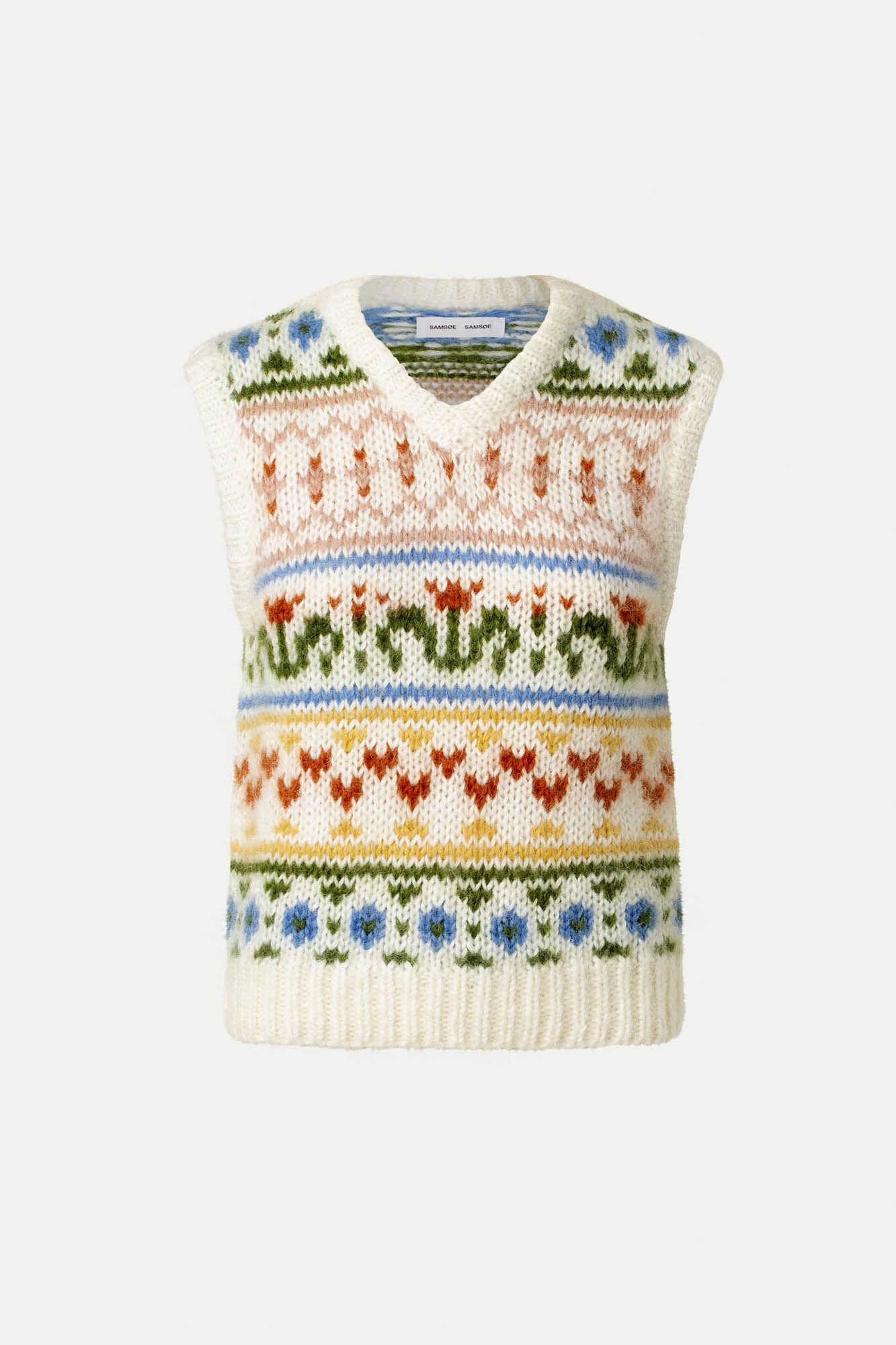 Simones vest 10976, WHISPER WHITE