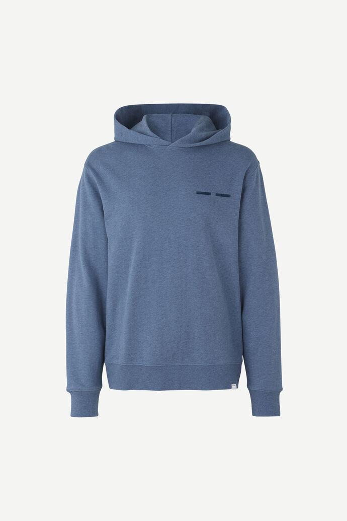 Toscan x hoodie mel 11571, NIGHT SKY MEL.