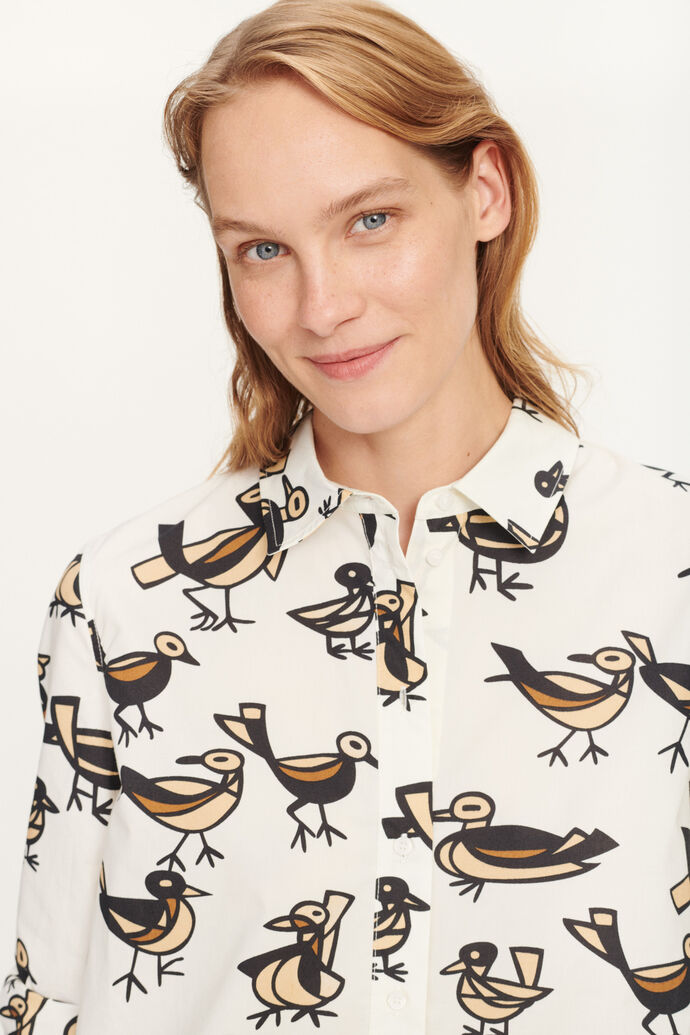 Katla shirt aop 11332, LOVEBIRDS