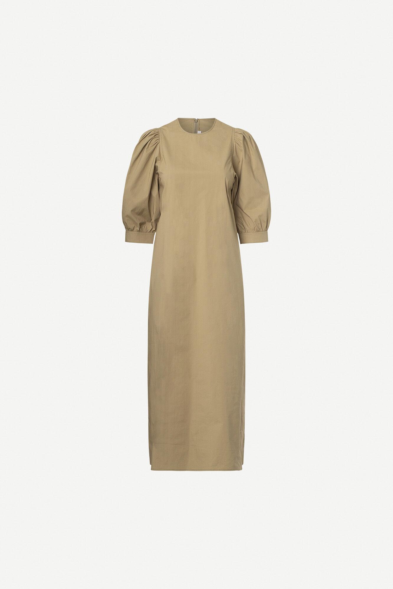 Celestina long dress 10783, COVERT GREEN
