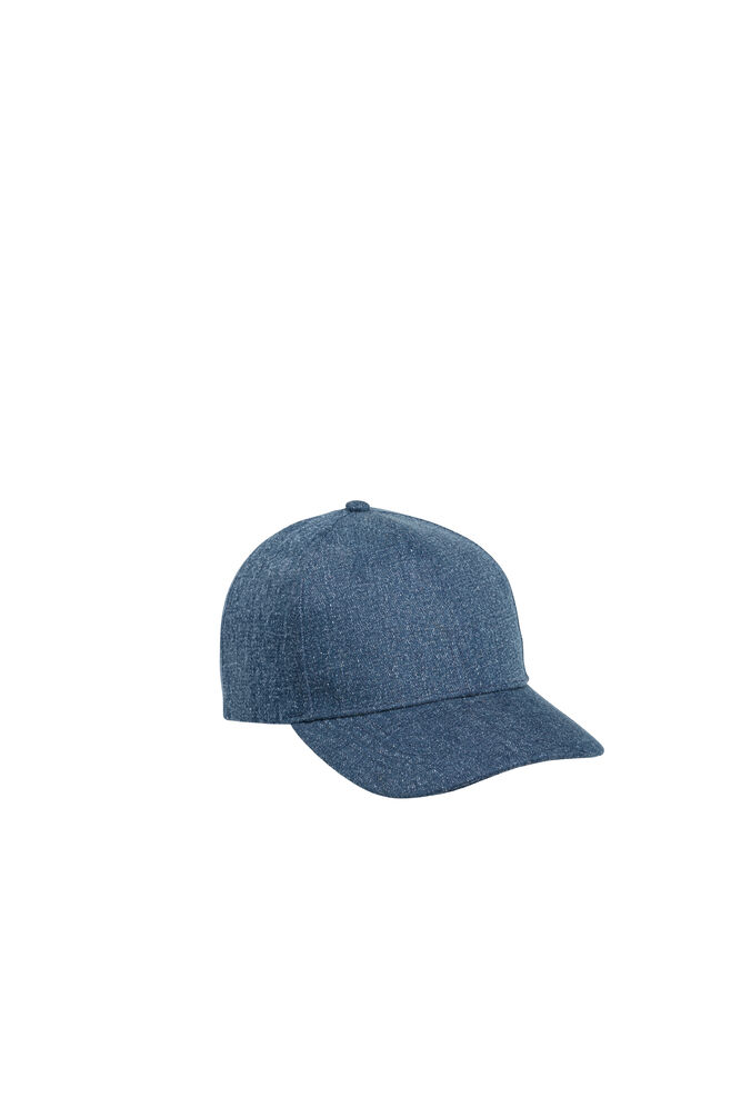 Weldon cap 9653, DARK BLUE DENIM