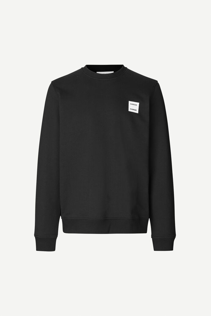Tarko crew neck 11414, BLACK