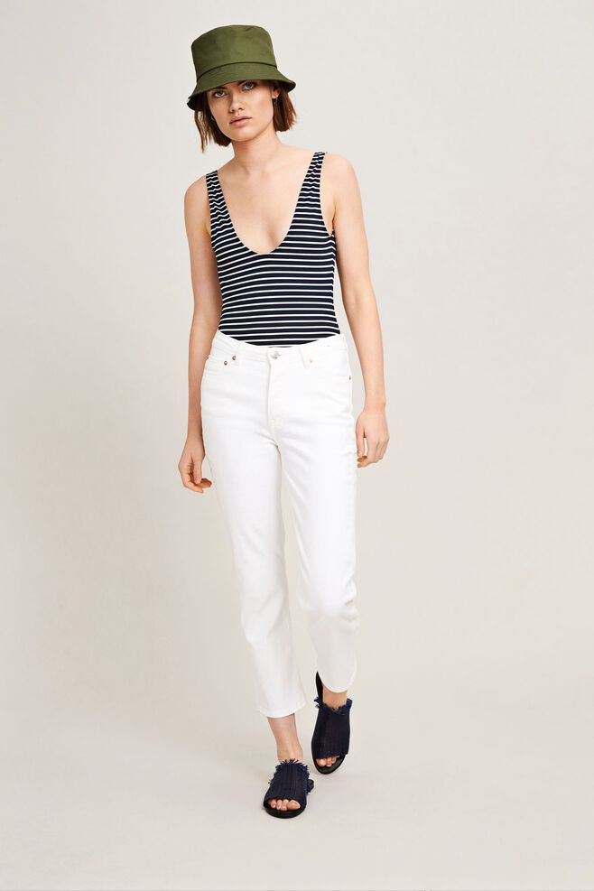 Marianne jean 9895, WHITE DENIM