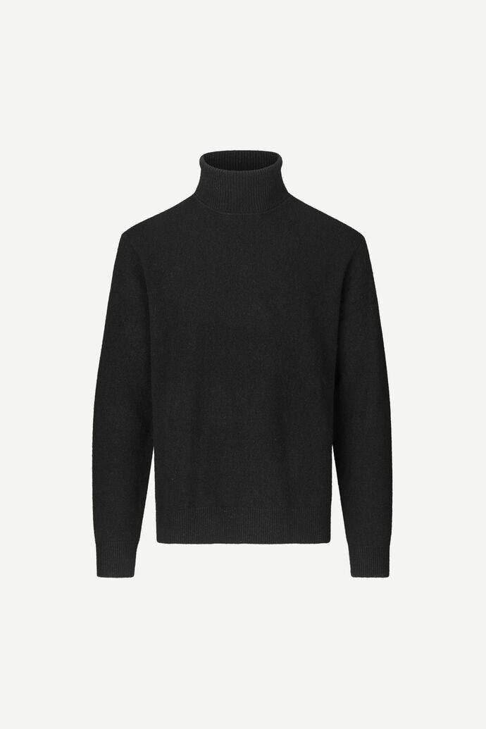 Viktor turtle neck 12758, BLACK