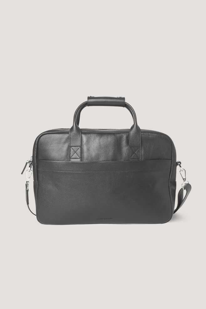 Miro briefcase single 3338, BLACK