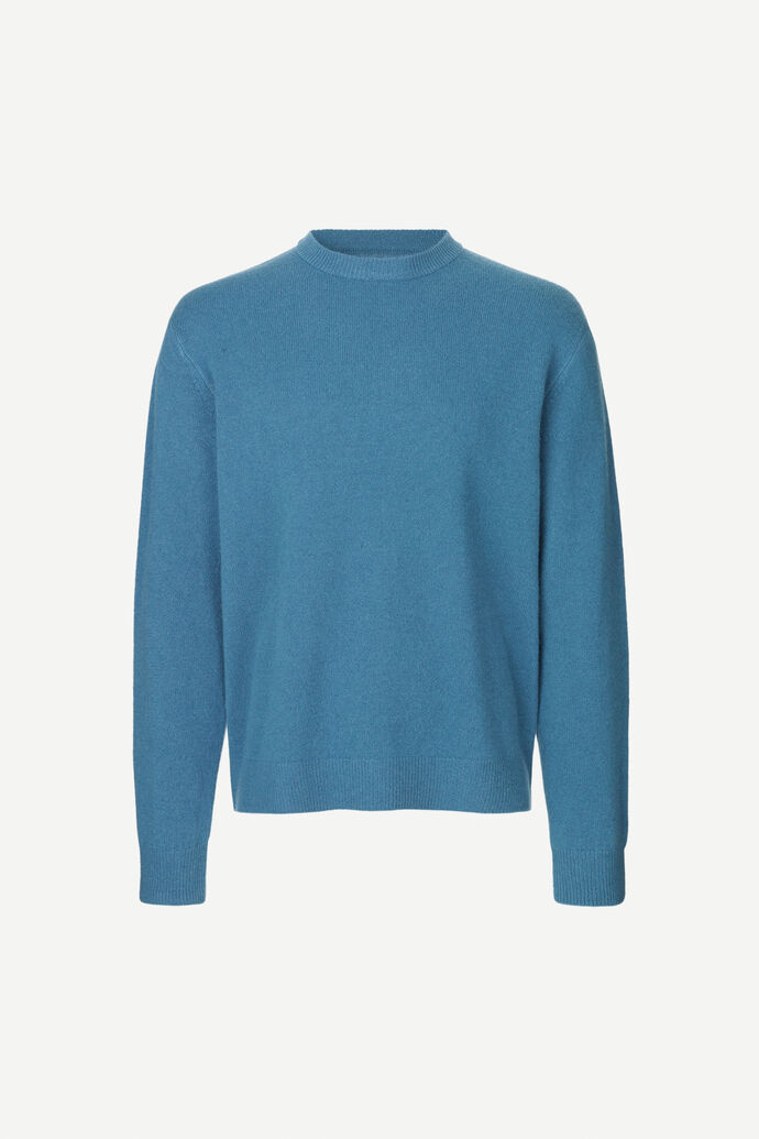 Viktor crew neck 12758, REAL TEAL
