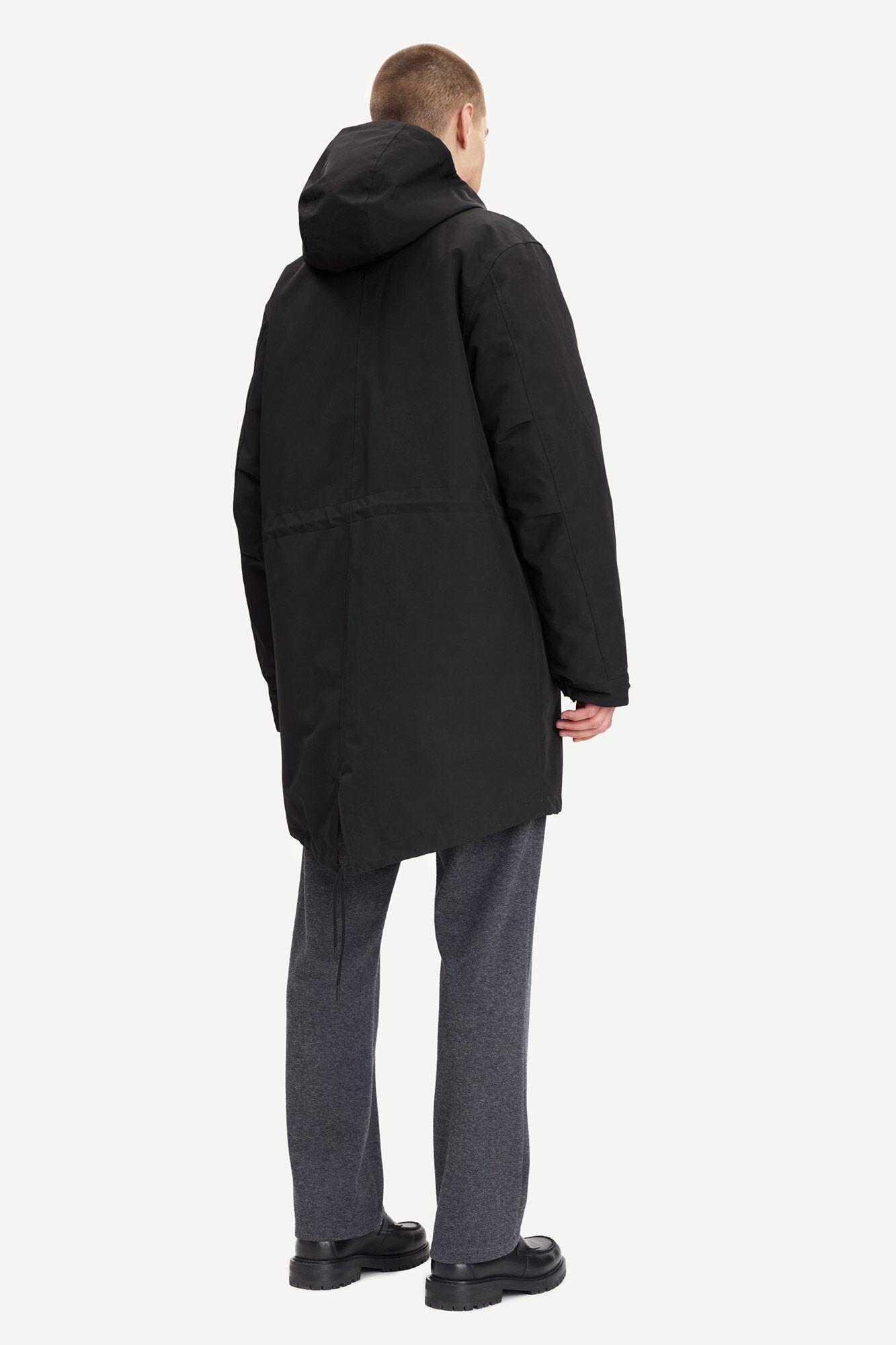 Paw parka coat 14111