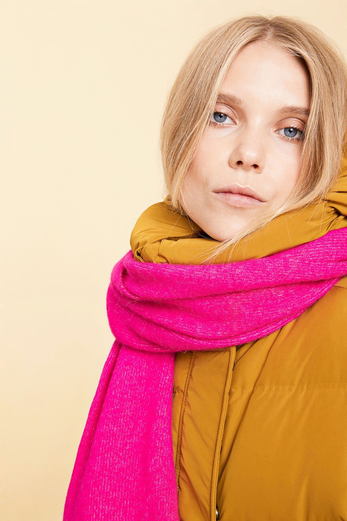 Nor scarf 7355, PINK MEL.