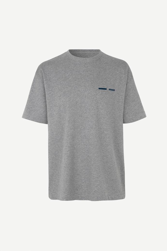 Toscan t-shirt 11415, GREY MEL.