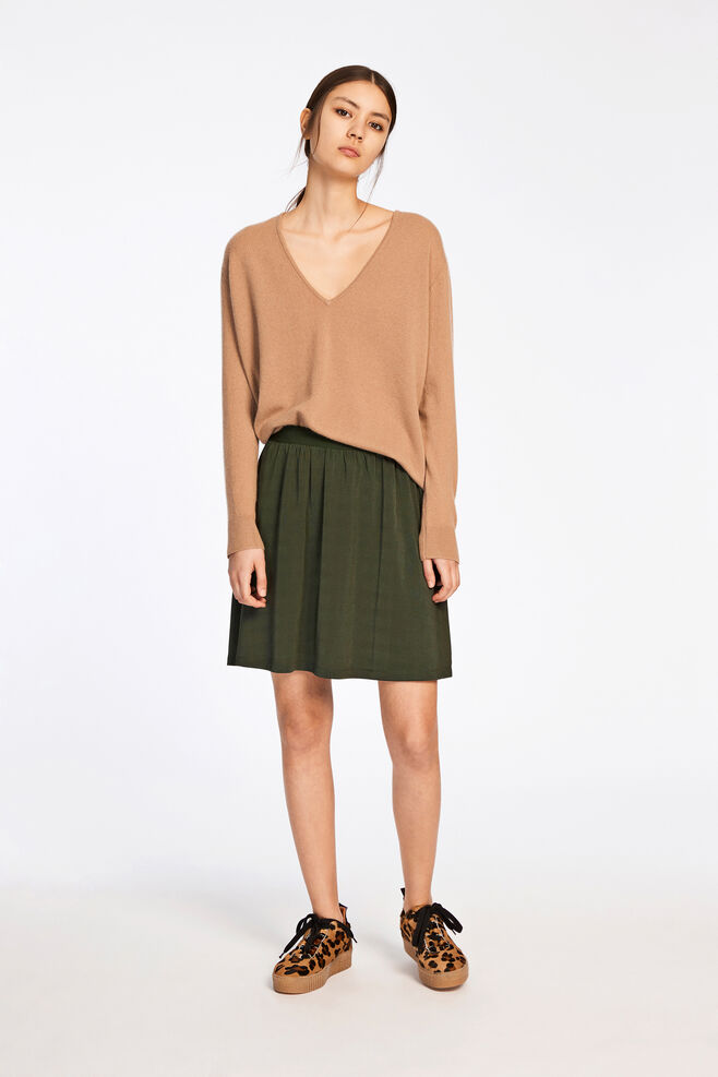 Boston v-neck 6304, INDIAN TAN