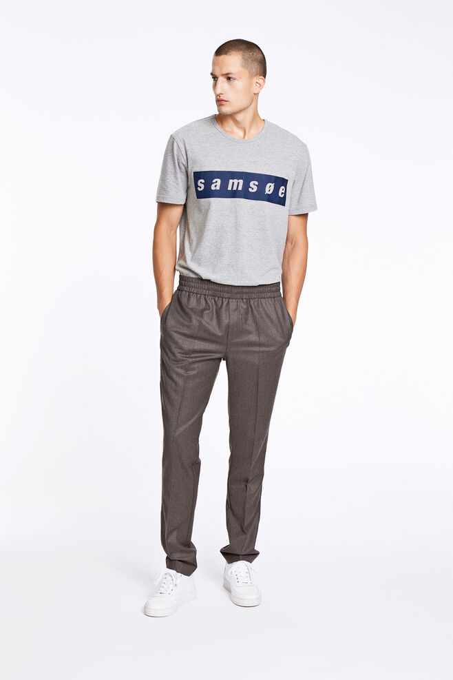 Smith pants 9514, GREY MEL.