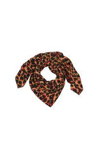 Bien scarf 9394, LEOPARD ROUGE