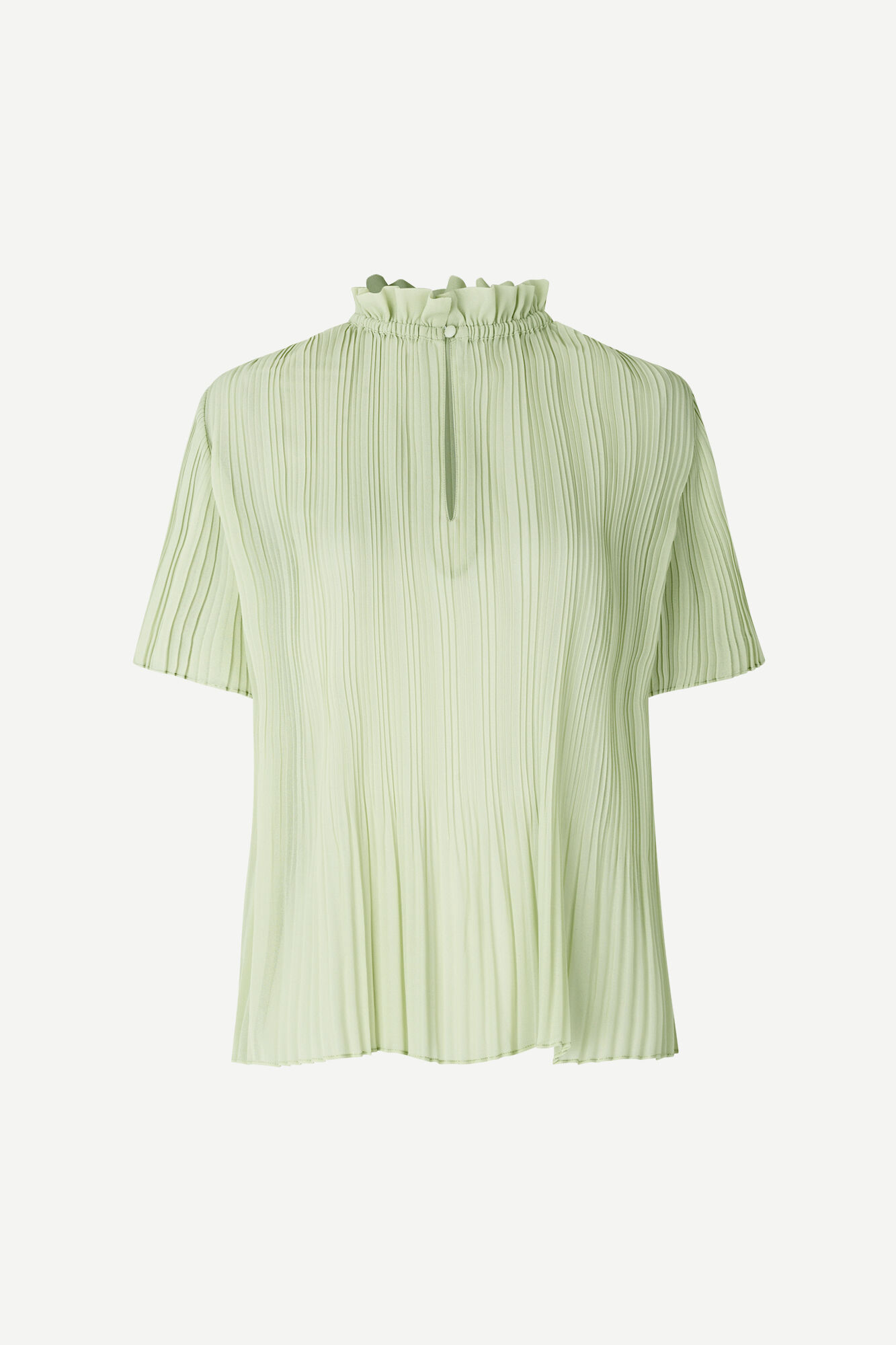 Lady ss blouse 6621, FOG GREEN