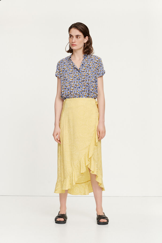Limon l wrap skirt 12696, PINEAPPLE SLICE