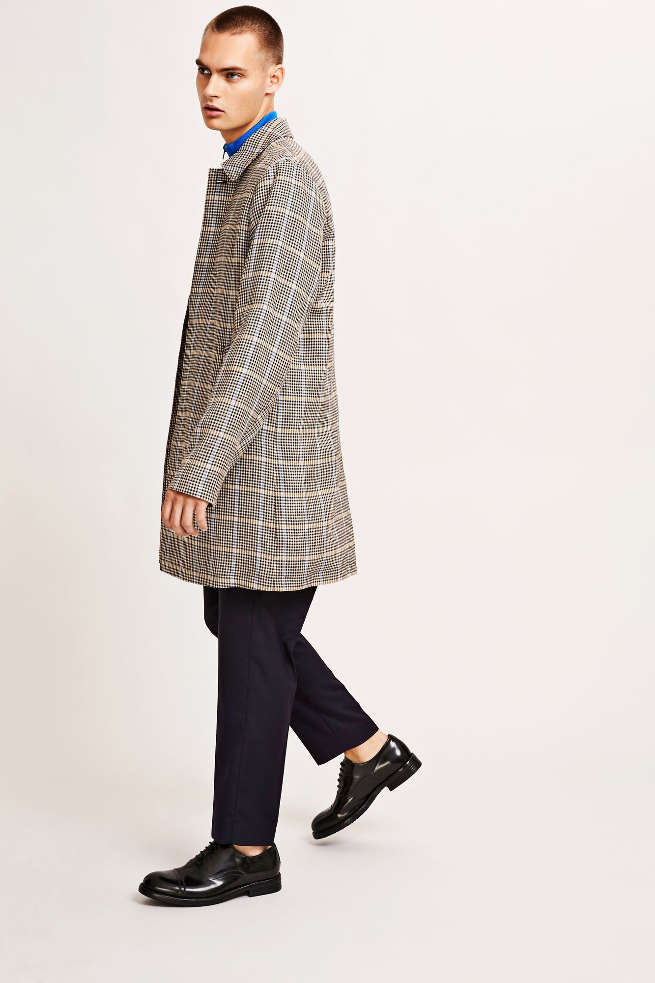 Belek jacket 9854, BLACK CHECK