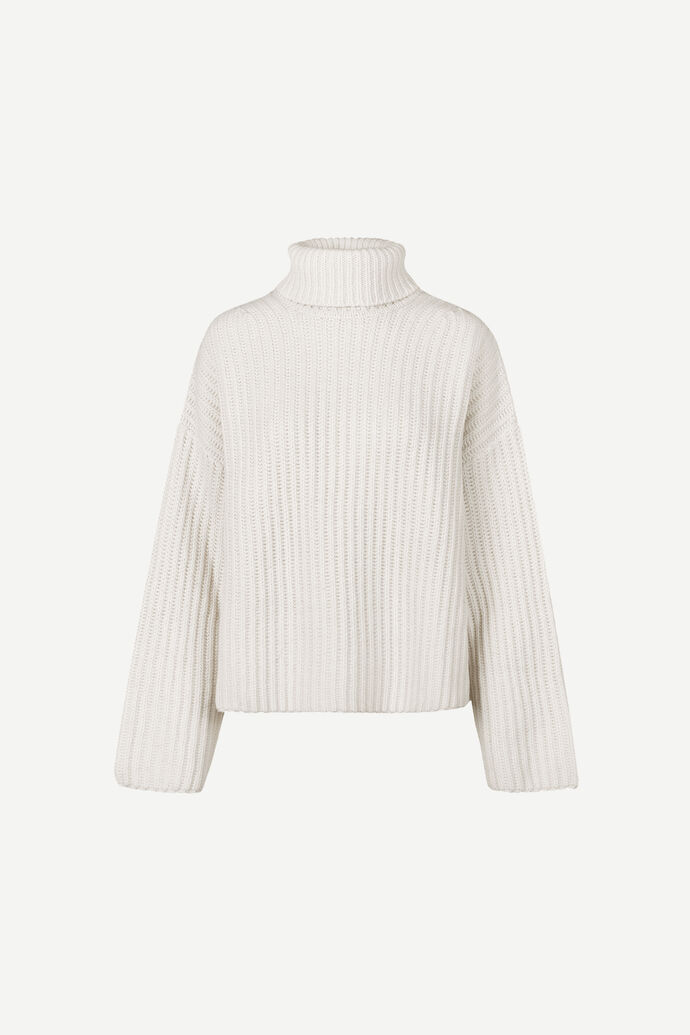 Keiko short turtleneck 11250, WHISPER WHITE