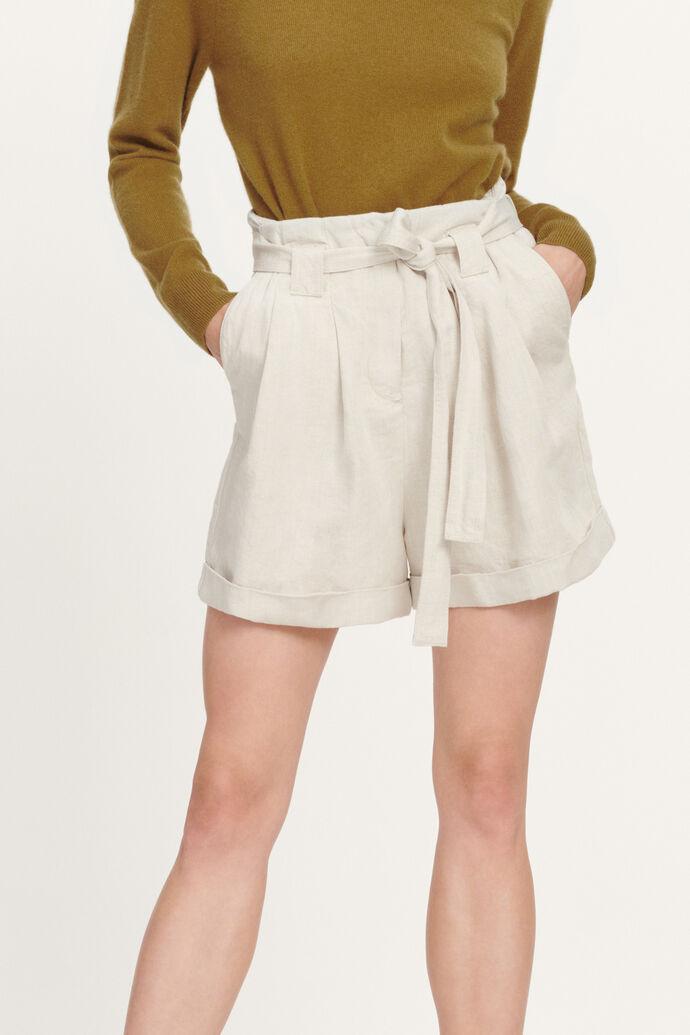 Manz shorts 11484, WARM WHITE