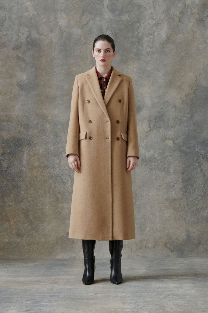 Falcon coat 11104, DULL GOLD
