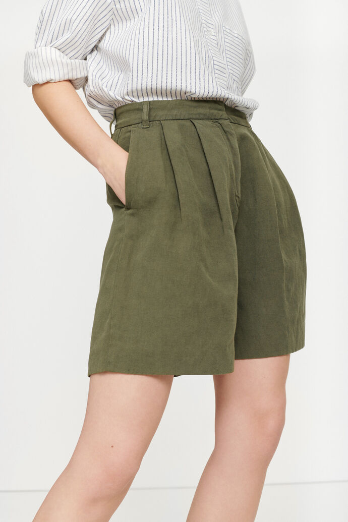 Maud shorts 12659, AIR KHAKI