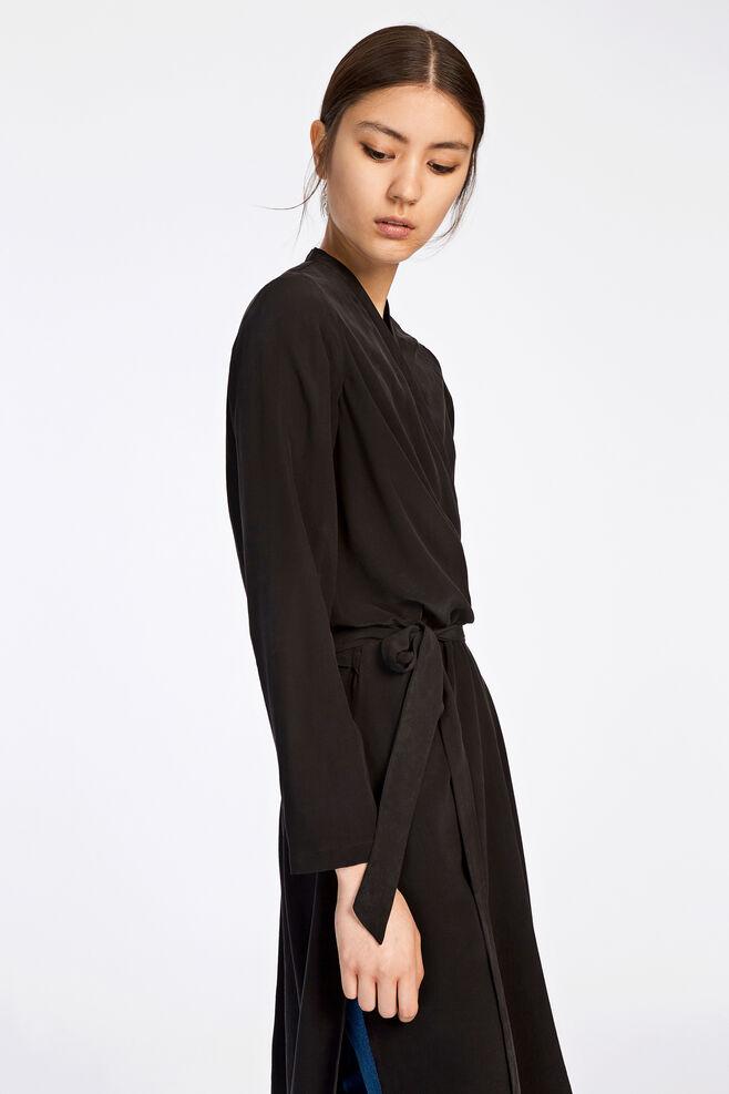 Mante ls dress 7879, BLACK