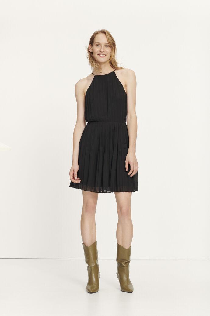Myllow short dress 6621, BLACK
