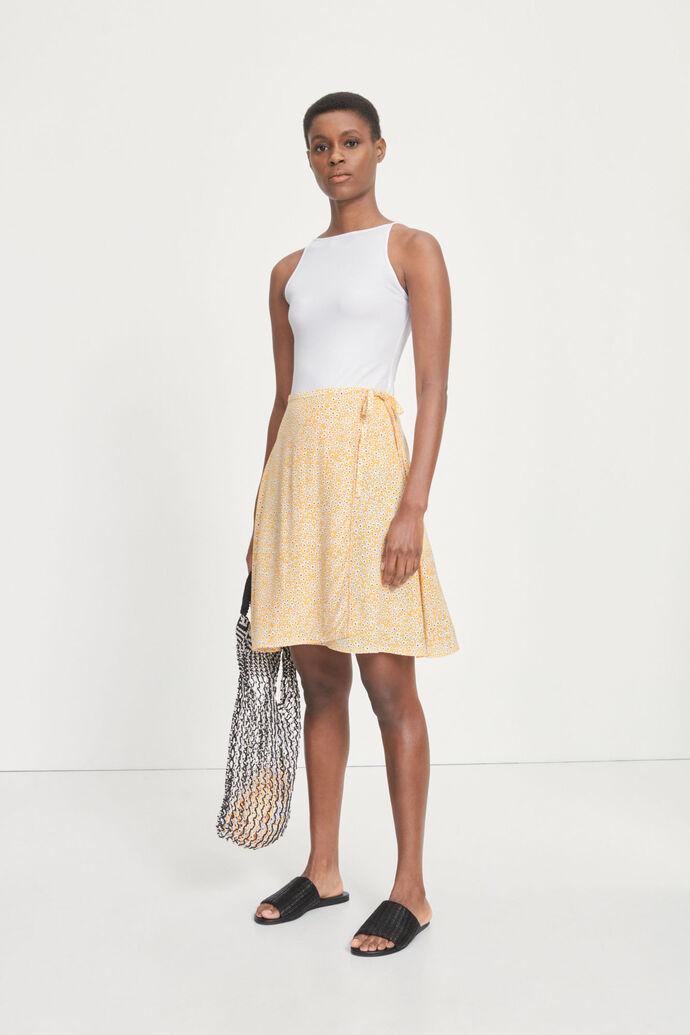 Britt s wrap skirt aop 10864