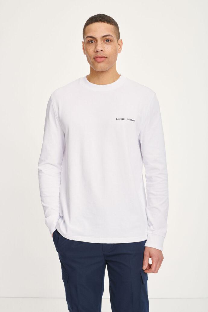 Norsbro t-shirt ls 6024, WHITE