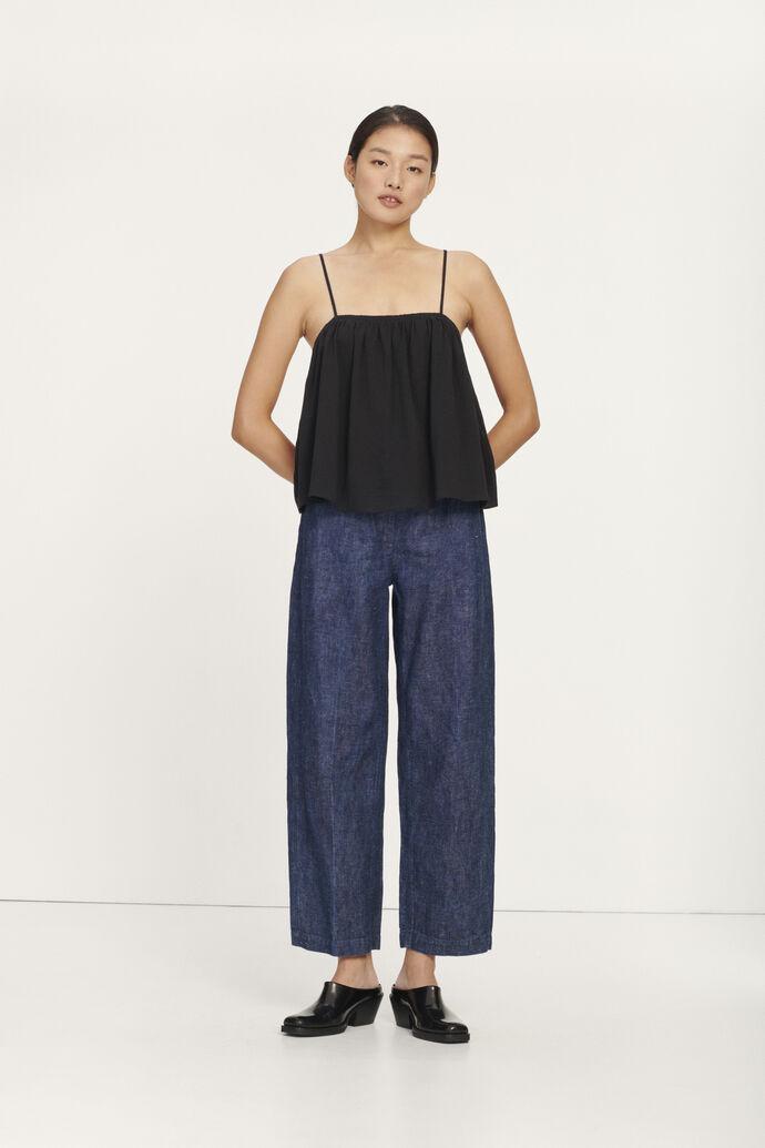 Berna trousers 11386, INDIGO BLUE