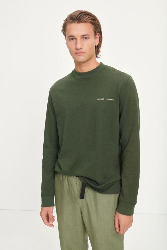 Norsbro t-shirt ls 6024, KAMBU GREEN