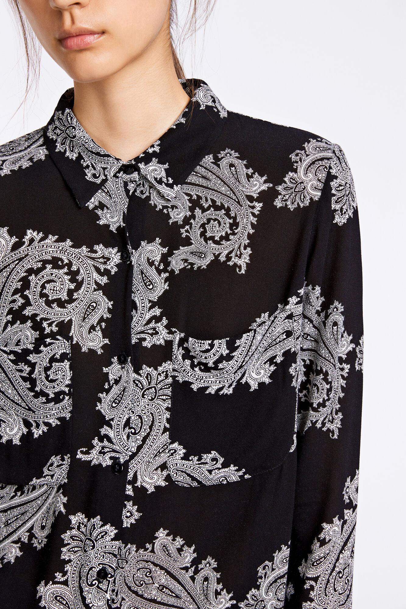 Milly shirt aop 7201, GRAND MOTIF