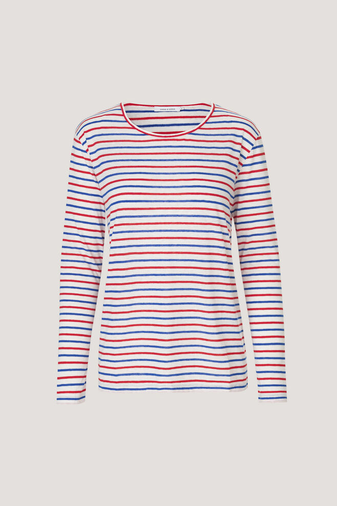 Nobel ls stripe 3173, CREAM RED SURF ST