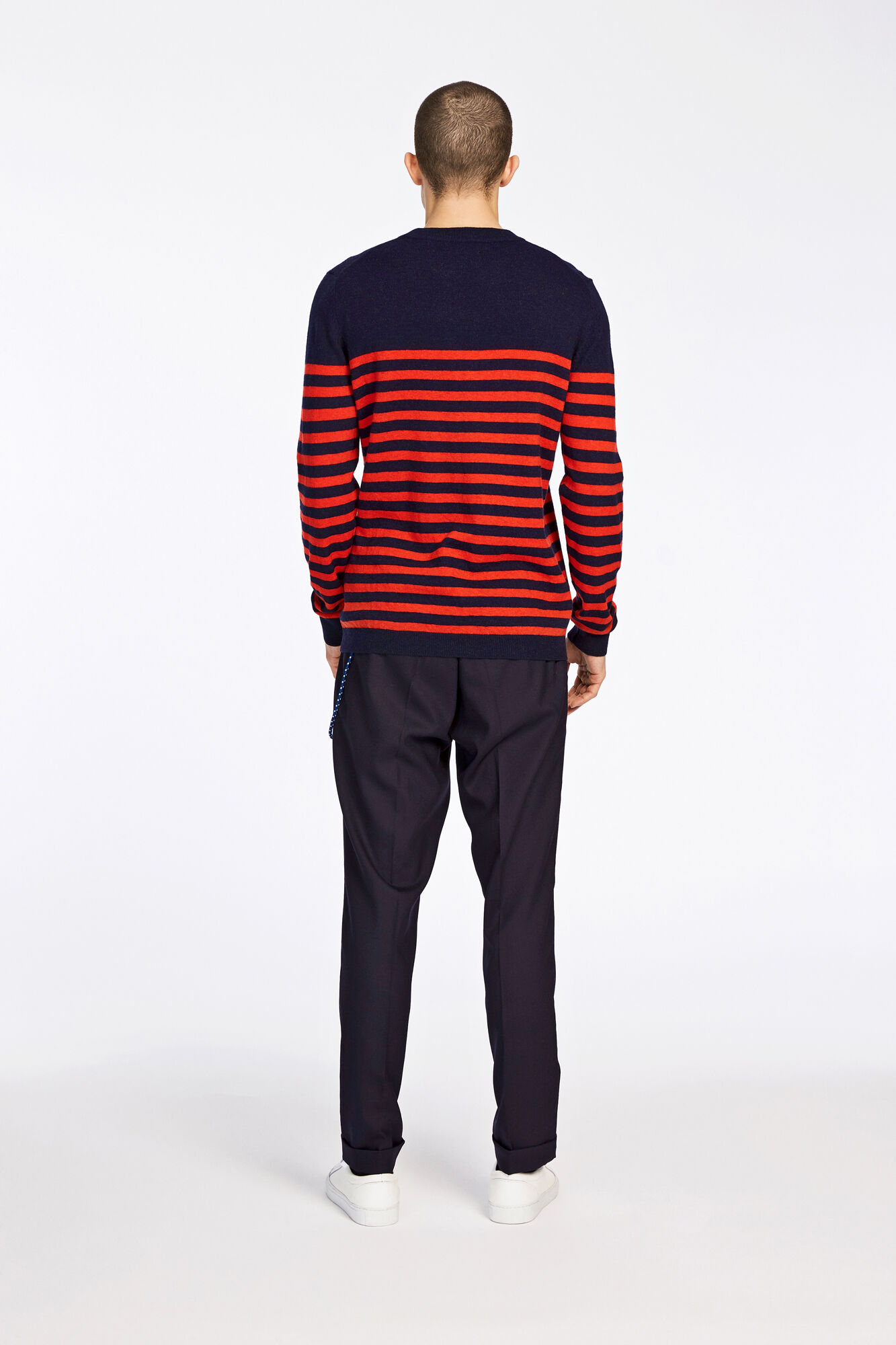 Gees stripe o-n 132, H. RISK RED ST