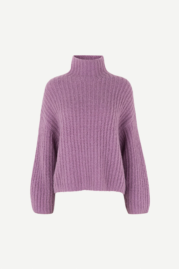 Reeves turtleneck 12747, PURPLE JASPER