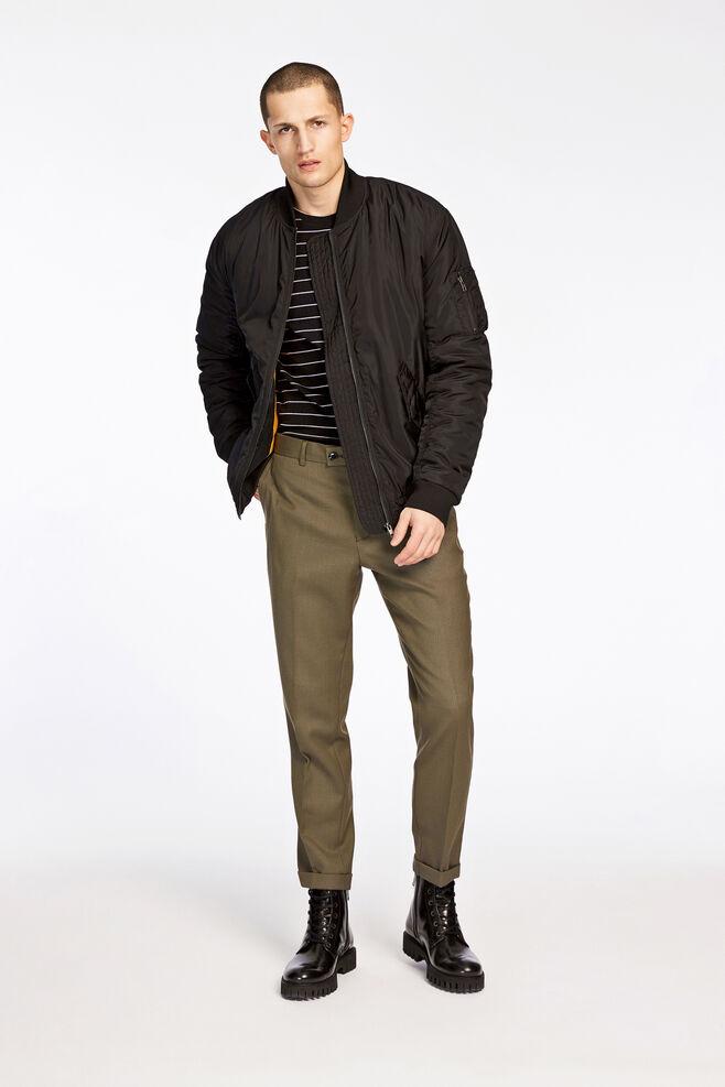 Laurent pants fold up 8197, DUSTY OLIVE