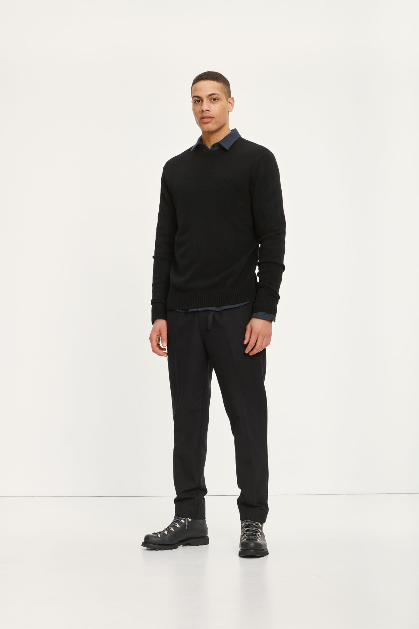 Agnar trousers 12810, BLACK