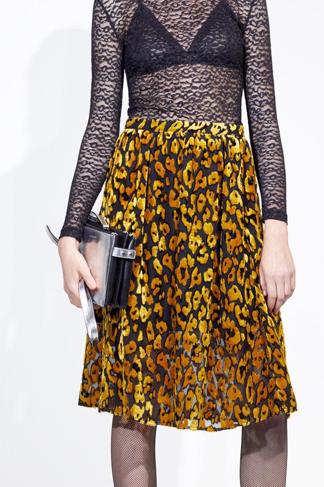 Kayla long skirt 9308, GOLDEN ROD