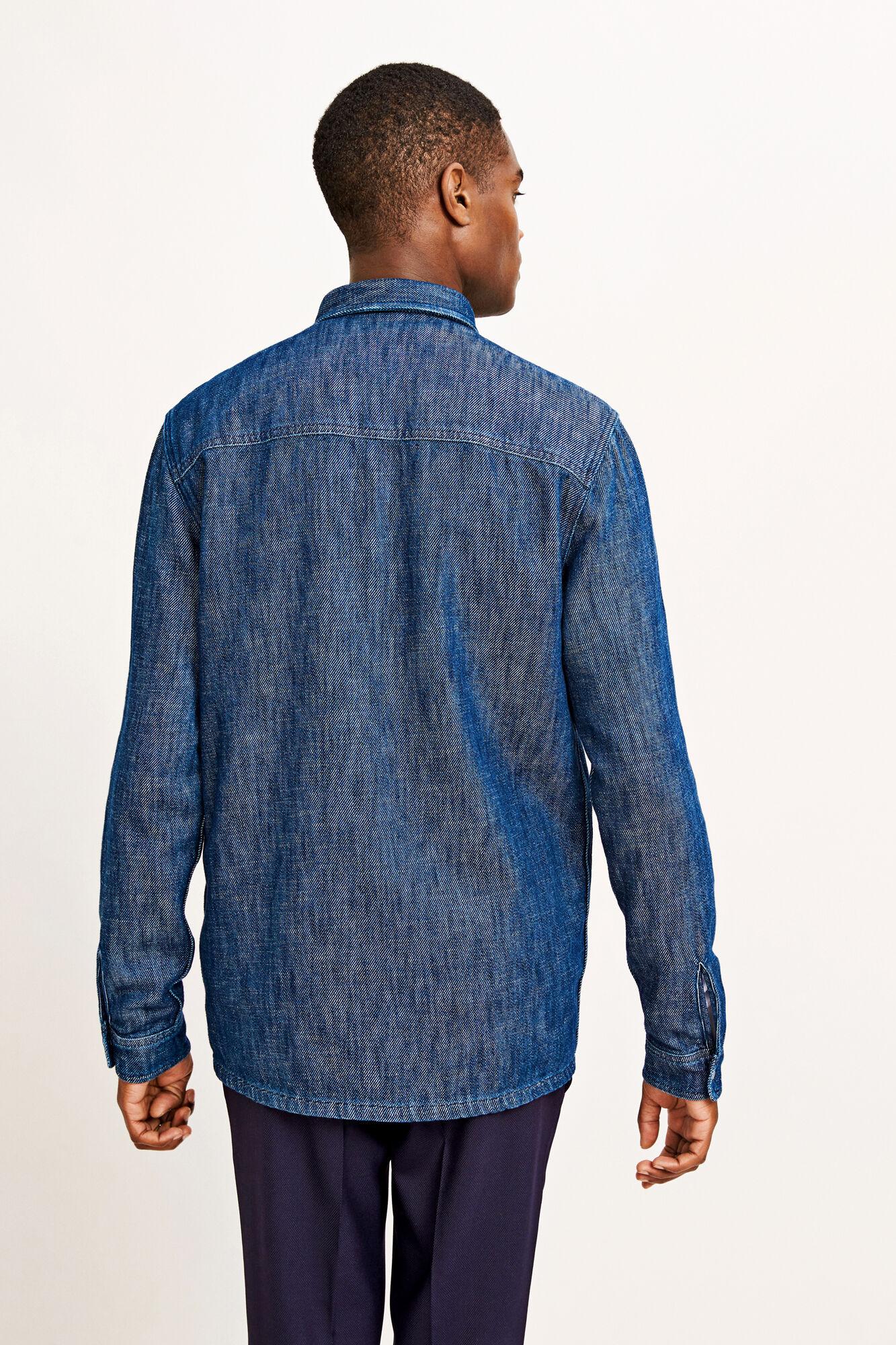 Walt zip overshirt 9750